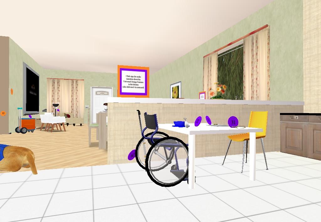 Cammino da seduta virtual worlds magazine for Fisico sedia a rotelle